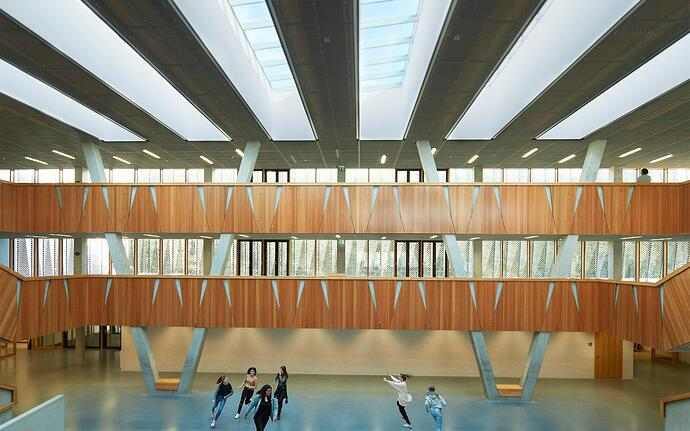 Un nouveau modèle d'enseignement rendu possible grâce à une architecture moderne